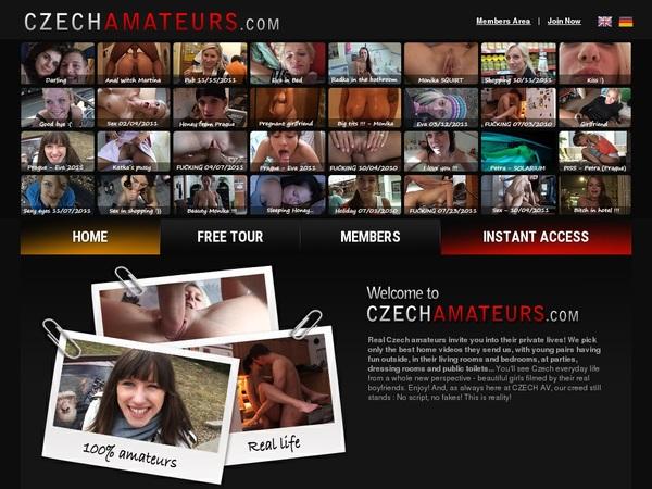 Czech Amateurs Member Access