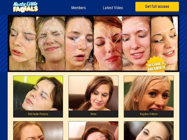 Daily Nasty Little Facials Accounts