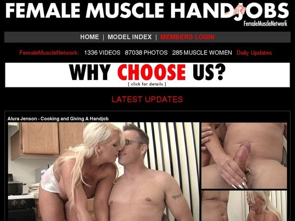 Female Muscle Handjobs Cash