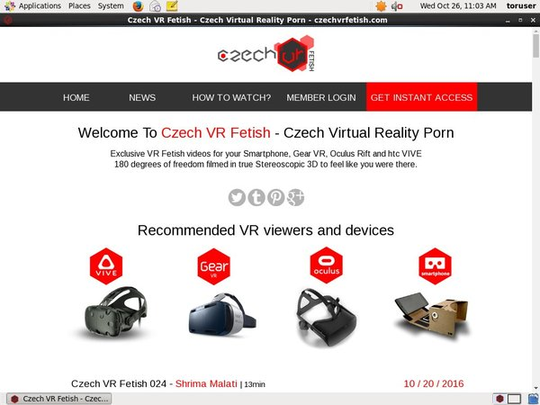 Free Czechvrfetish.com Login