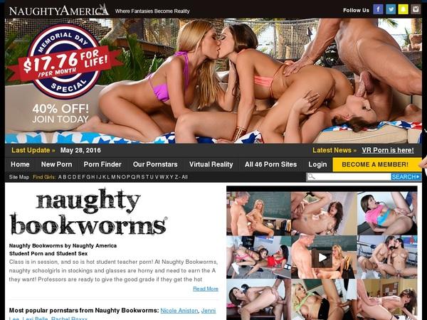 Free Naughty Bookworms Premium Accounts