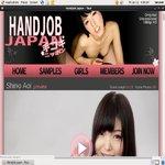 Handjob Japan Create Account