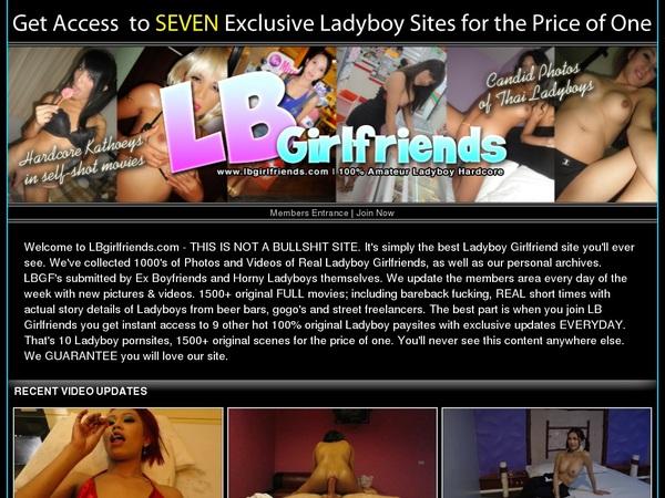 Ladyboy Girlfriends Cuentas