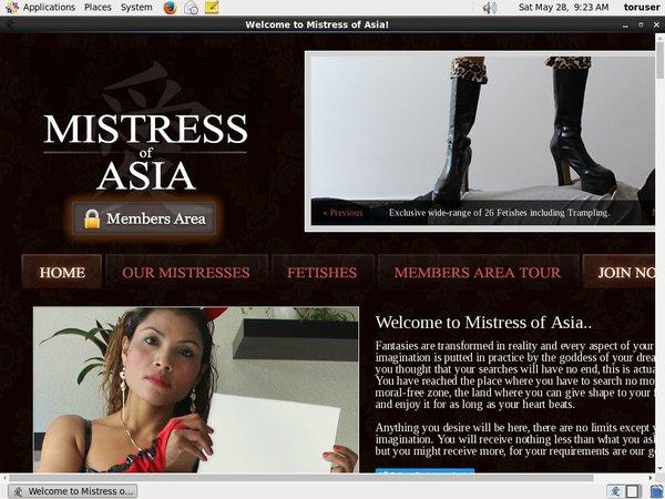 Log In Mistressofasia.com