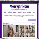 Messy Girl Passcodes
