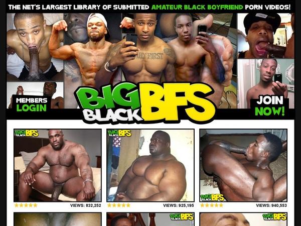 Premium Big Black BFs Account Free