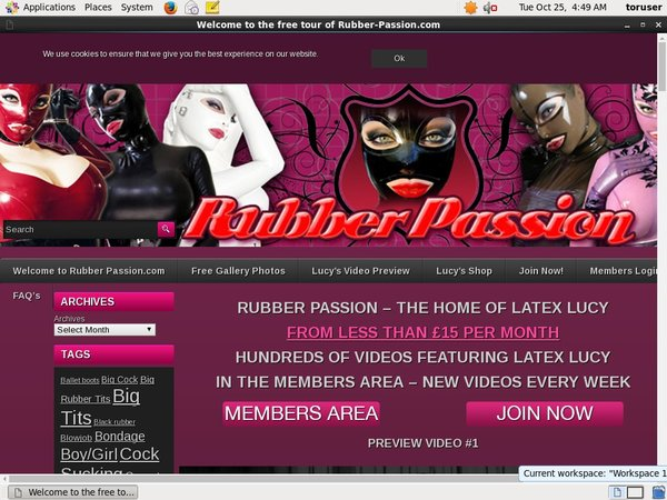 Rubber Passion Buy Credits