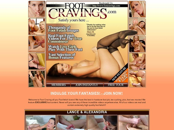 Free Access Footcravings.com