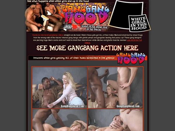 Joining Gang Bang Hood