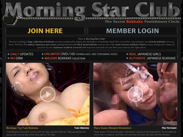 Morningstarclub Account Generator