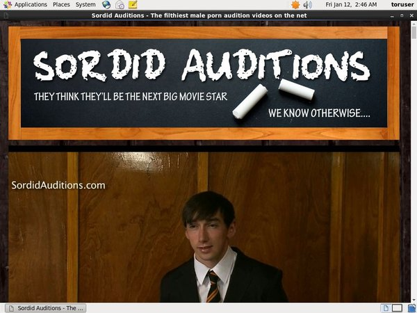 Sordid Auditions V2 Web Billing