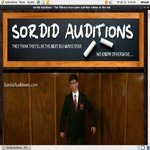 Sordid Auditions With Pay Pal