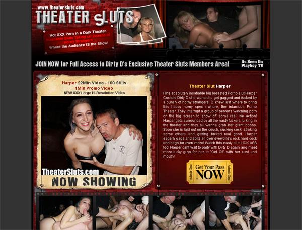 Theater Sluts Account Blog