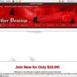 Leatherdomina Mail Order