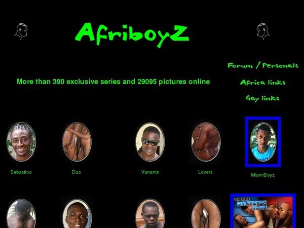 Afri BoyZ Boyz