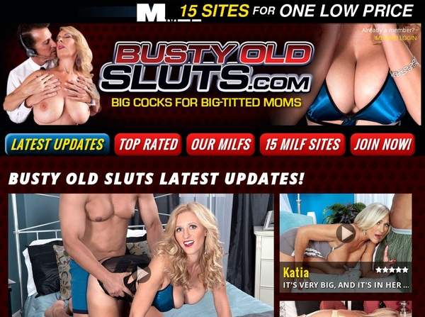Busty Old Sluts Website Accounts