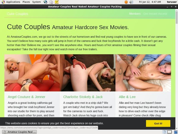 Cute Couples Make Account