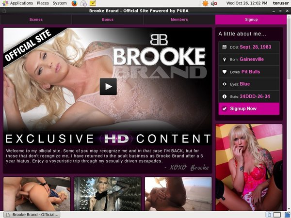 Free Brookebrandxxx.com Code