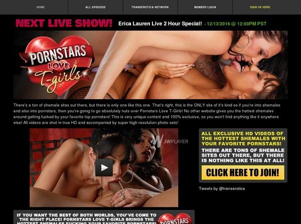 Porn Stars Love T-Girls Movie