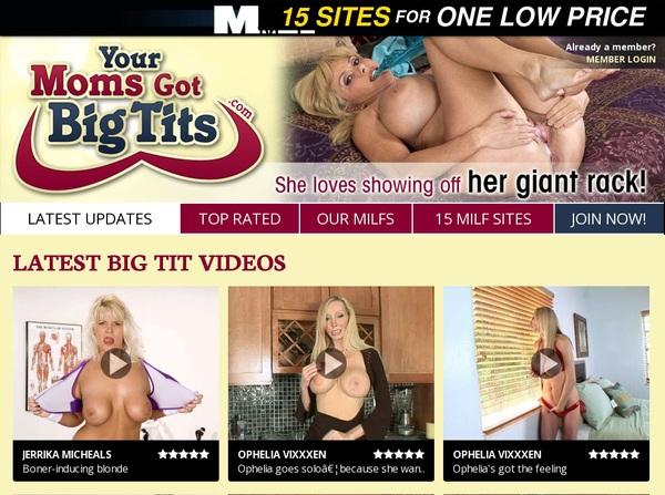 Your Moms Got Big Tits Rabatt