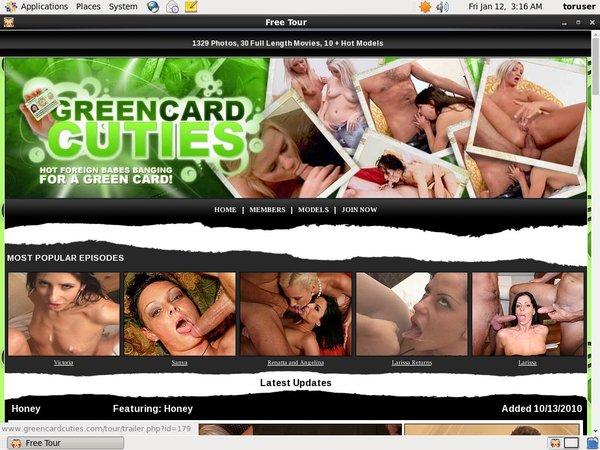Green Card Cuties Cash