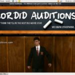 Sordid Auditions Dvd