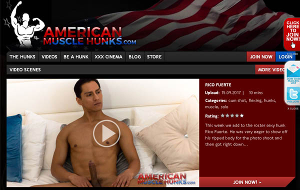 Americanmusclehunks.com Paysite
