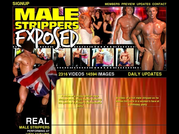 Male Strippers Exposed 암호