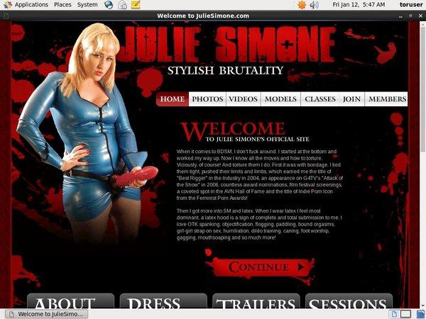 Paypal For Juliesimone.com