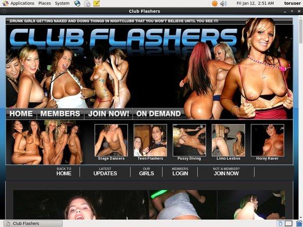 Club Flashers Password Share